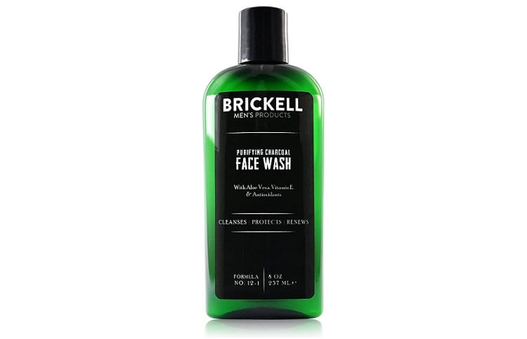Brickell Mens Purifying Natural and Organic Charcoal Face Wash Review