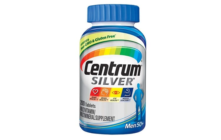 Centum Silver Men multivitamin and multimineral supplements Review