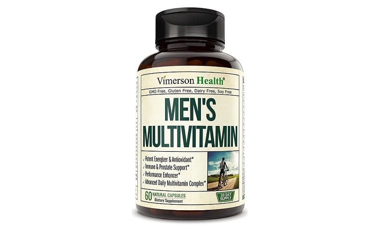 Men's Daily Multimineral Multivitamin Supplement Review