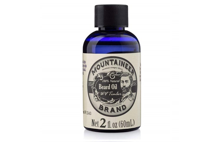 Mountaineer brand beard oil with fir needle and cedarwood Review