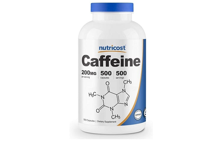 Nutricost Caffeine Pills, 200mg Per Serving (500 Caps) review
