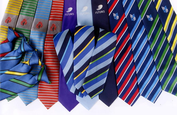 clip on ties colors