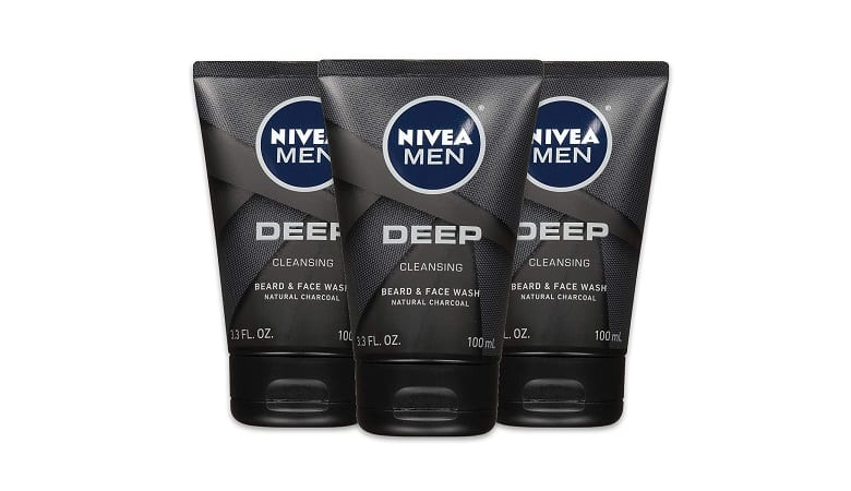 Nivea Men Deep Cleansing Face and Beard Wash