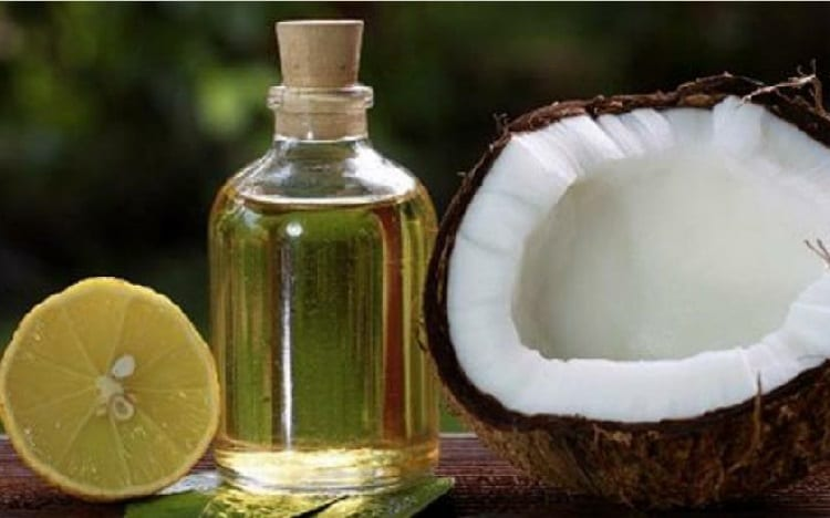 benefits of lemons and coconut oil