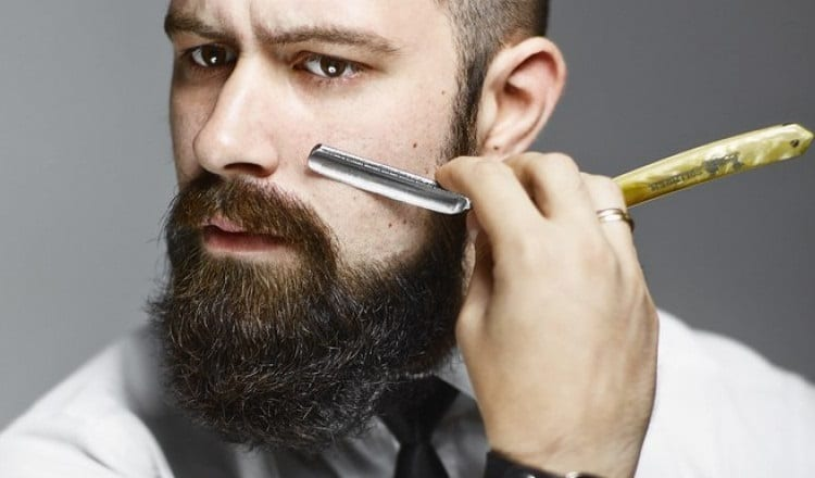 tips for trimming with straight razor