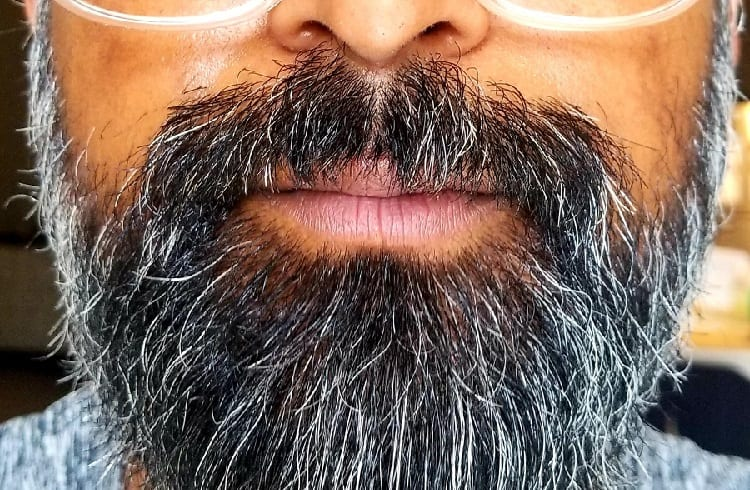 when to dye beard