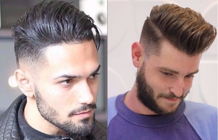 mans with undercut hairstyle