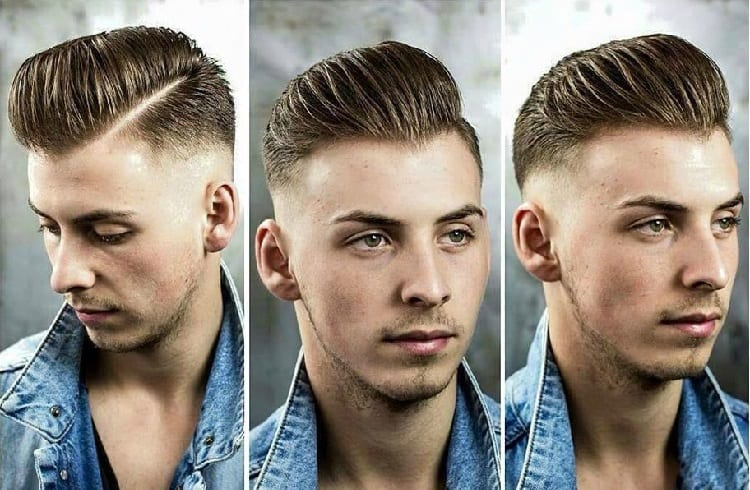 undercut type of hairstyle