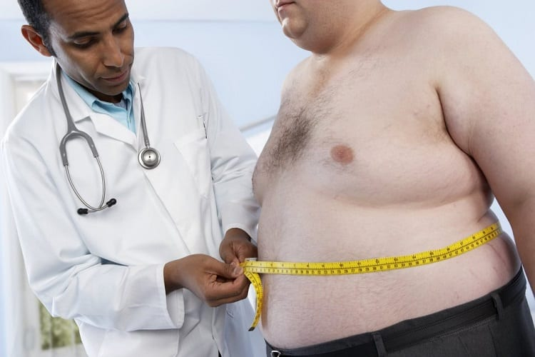 Measuring Mens Belly