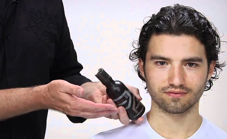 Applying Hair Product