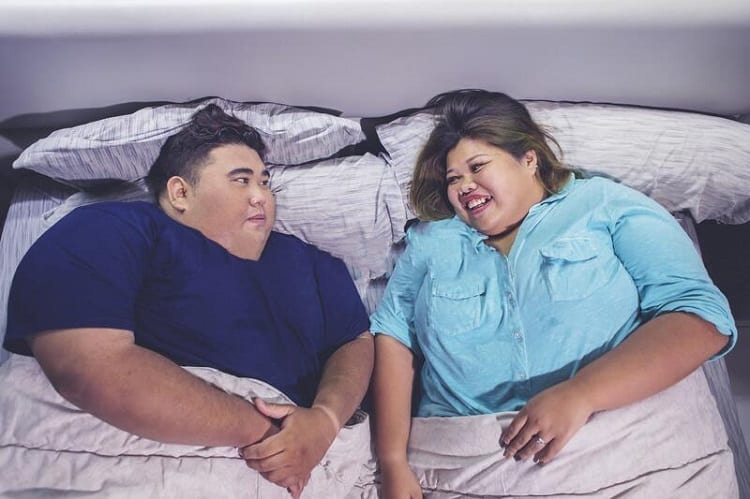 Big Couple In Bed