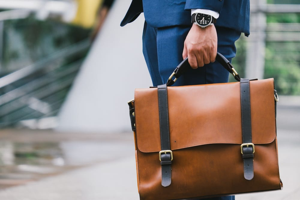 best leather messenger bags for work